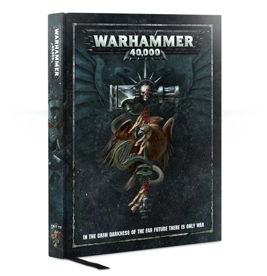 WARHAMMER 40000 RULEBOOK ( BS1 )