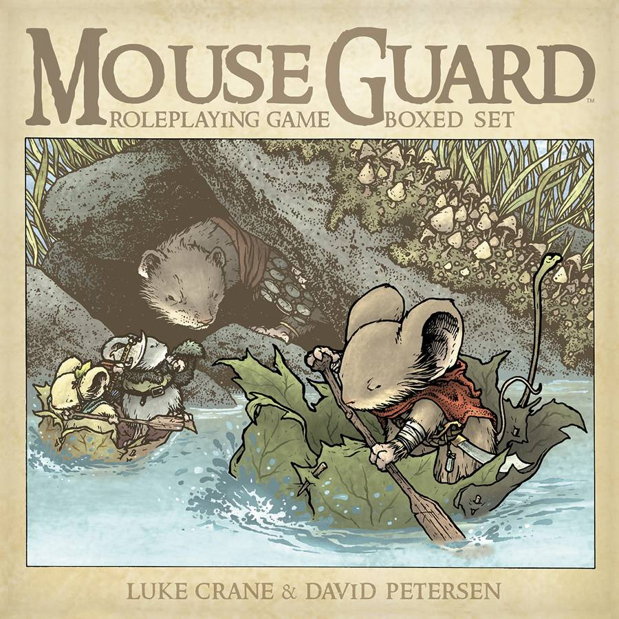 MOUSE GUARD ROLEPLAYING GAME HC BOXED SET (2ND ED) (C: 0-0-1