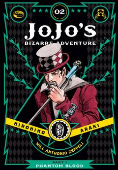 JOJOS BIZARRE ADV PHANTOM BLOOD HC VOL 02 (C: 1-0-1)