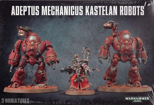 ADEPTUS MECHANICUS KASTELAN ROBOTS  ( BS1 )