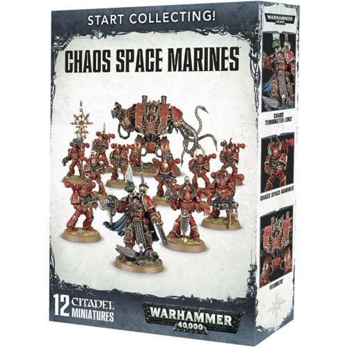 START COLLECTING! CHAOS SPACE MARINES (BS1)