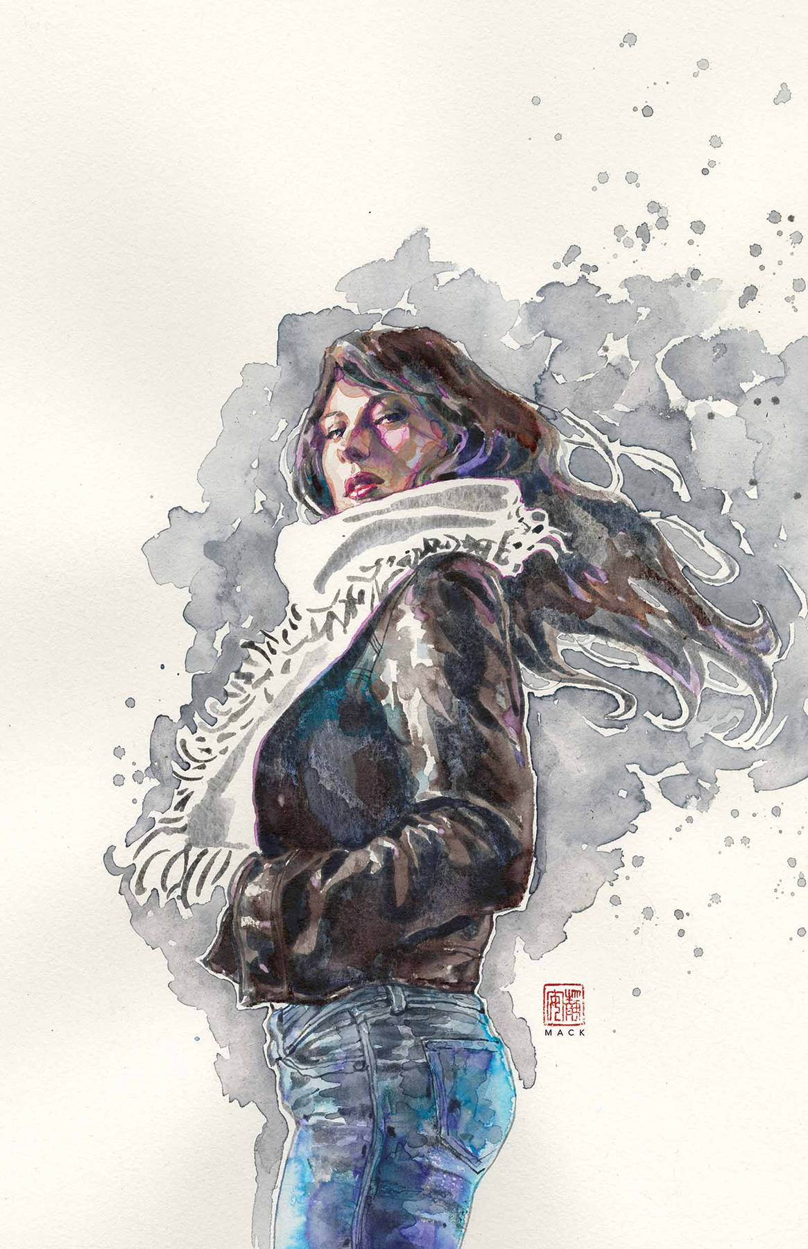 JESSICA JONES #1 BY MACK POSTER