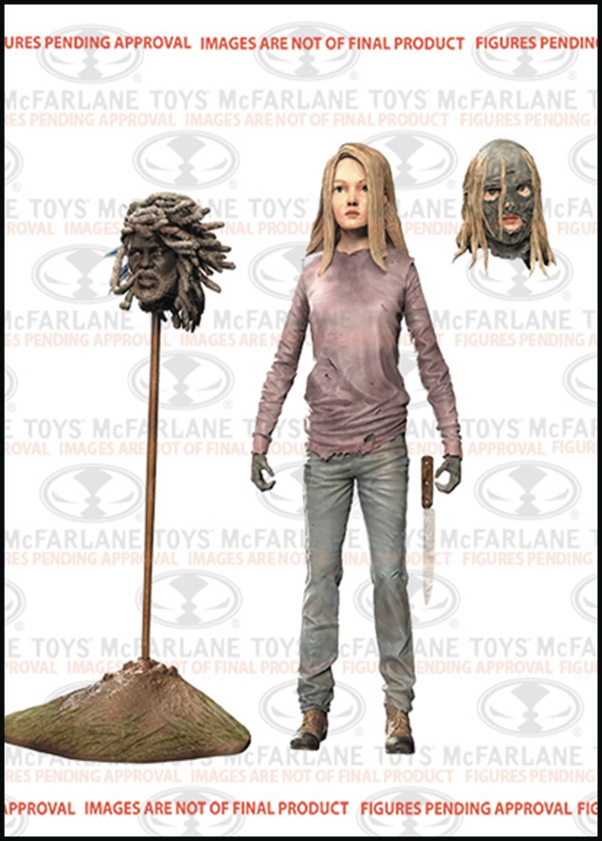 WALKING DEAD COMIC SERIES 5 LYDIA AF