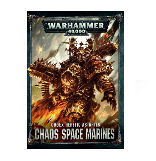 CODEX: CHAOS SPACE MARINES 2 (ENGLISH) ( BS1 )