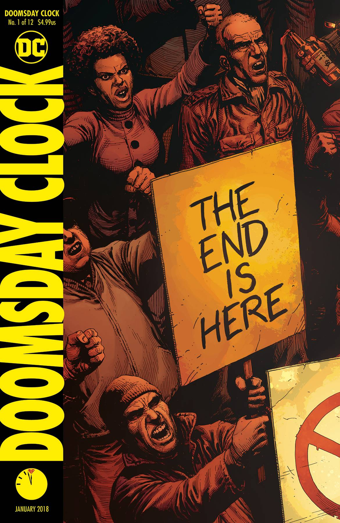 DOOMSDAY CLOCK #1 (OF 12) <span class=ttlyear>2017</span>