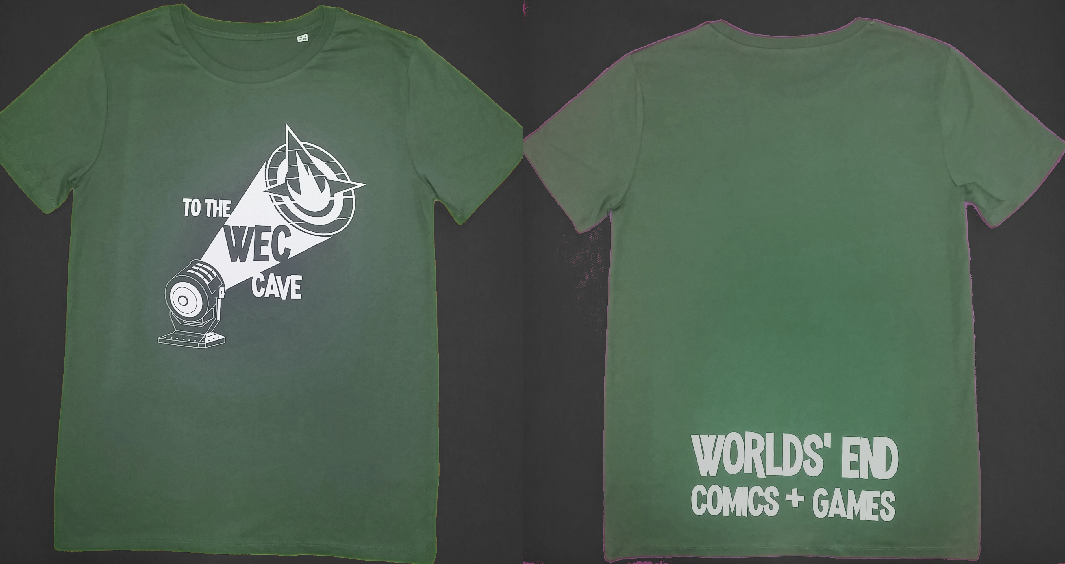 WEC T-SHIRT ARMY GREEN L