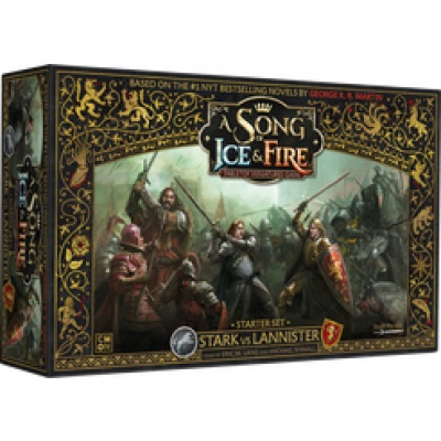 A SONG OF ICE & FIRE STARK VS LANNISTAR STARTER SET