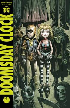 DOOMSDAY CLOCK #6 (OF 12) <span class=ttlyear>2018</span>