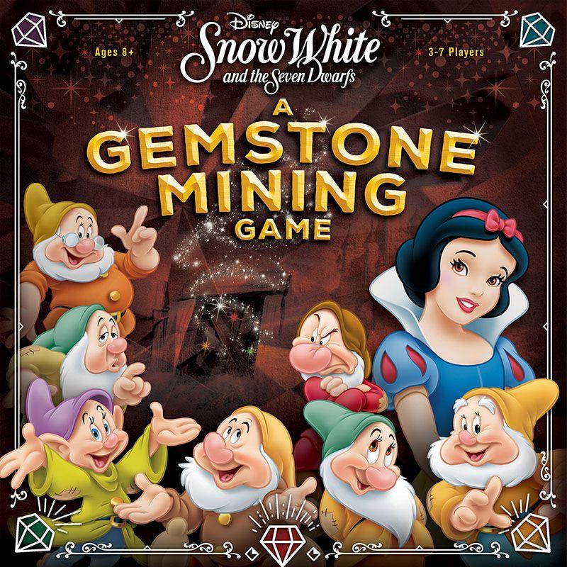 DISNEY SNOW WHITE GEMSTONE MINING GAME