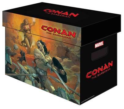 MARVEL GRAPHIC COMIC BOXES CONAN BARBARIAN
