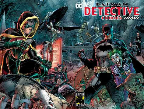 DETECTIVE COMICS #1000 (NOTE PRICE) <span class=ttlyear>2019</span>