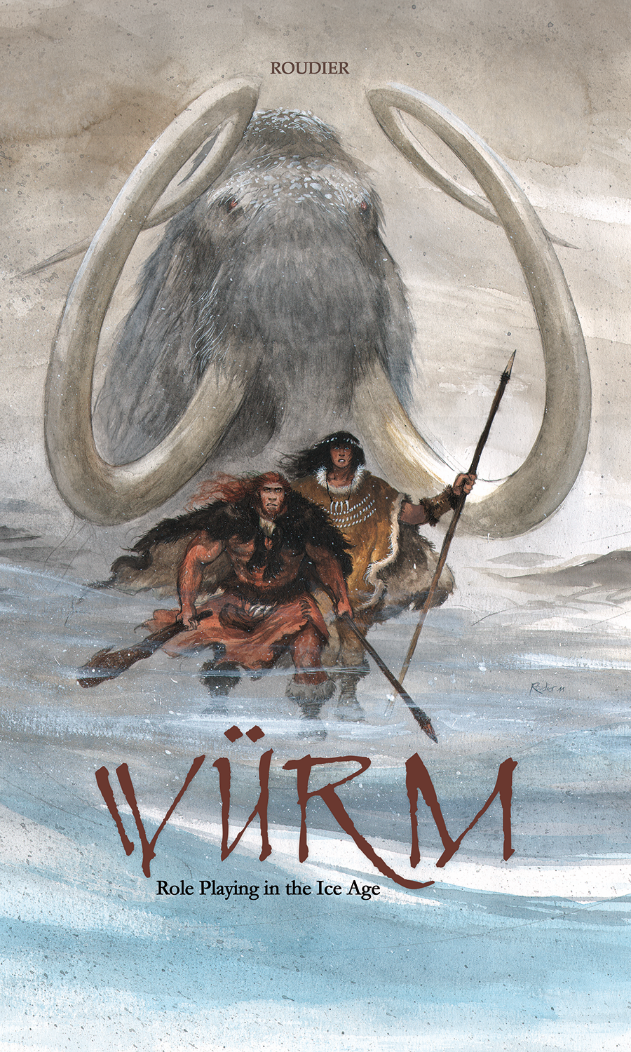 WÜRM RPG: ROLEPLAYING IN THE ICE AGE CORE RULEBOOK (HC)
