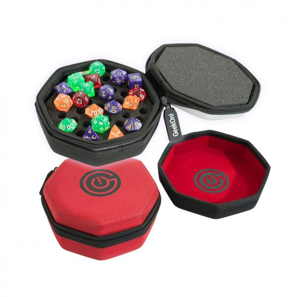 GEEKON! DICE CASE & TRAY - RED