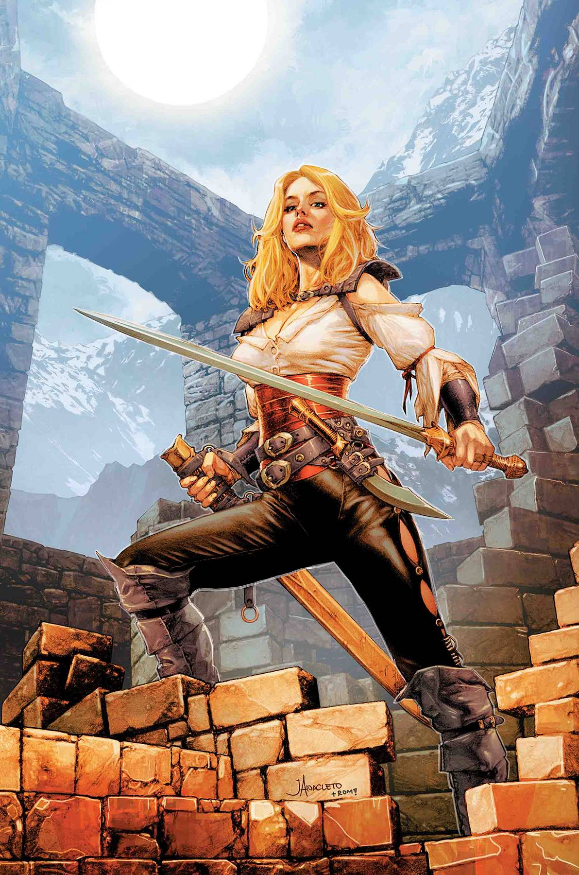 AGE OF CONAN VALERIA #1 (OF 5) <span class=ttlyear>2019</span>