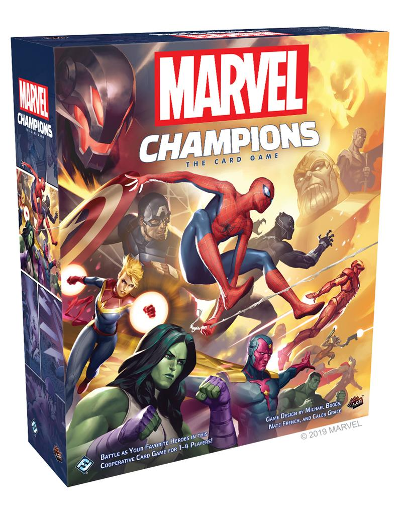 MARVEL CHAMPIONS LCG THE CARD GAME
