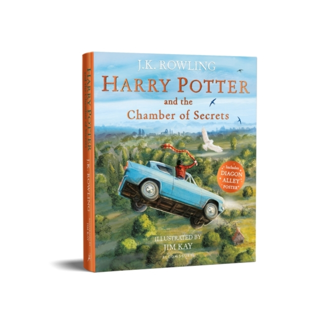 HARRY POTTER AND THE CHAMBER OF SECRETS: ILLUSTRATED EDTION