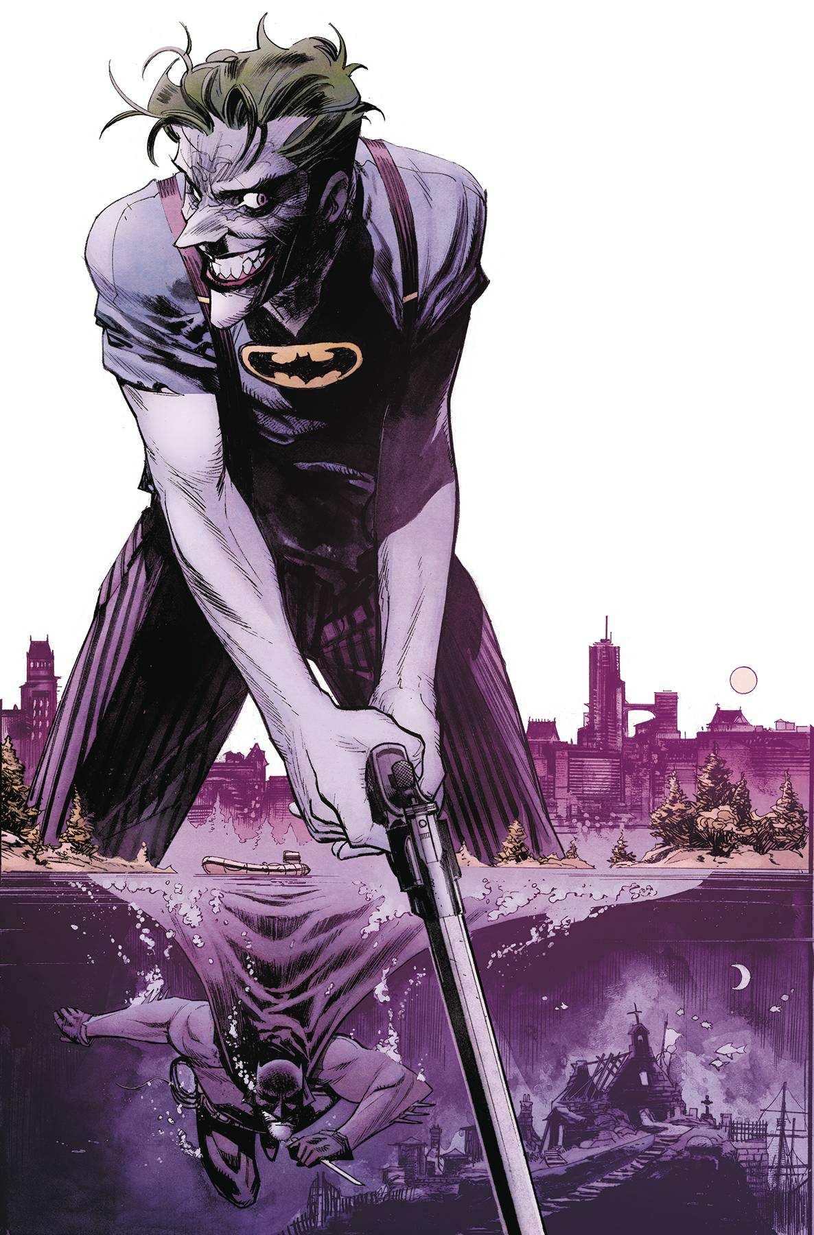 BATMAN CURSE OF THE WHITE KNIGHT #5 (OF 8) <span class=ttlyear>2019</span>