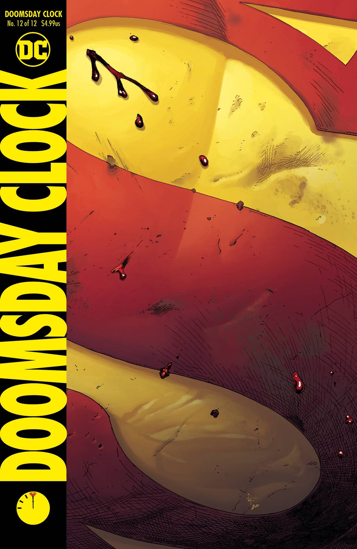 DOOMSDAY CLOCK #12 (OF 12) <span class=ttlyear>2019</span>