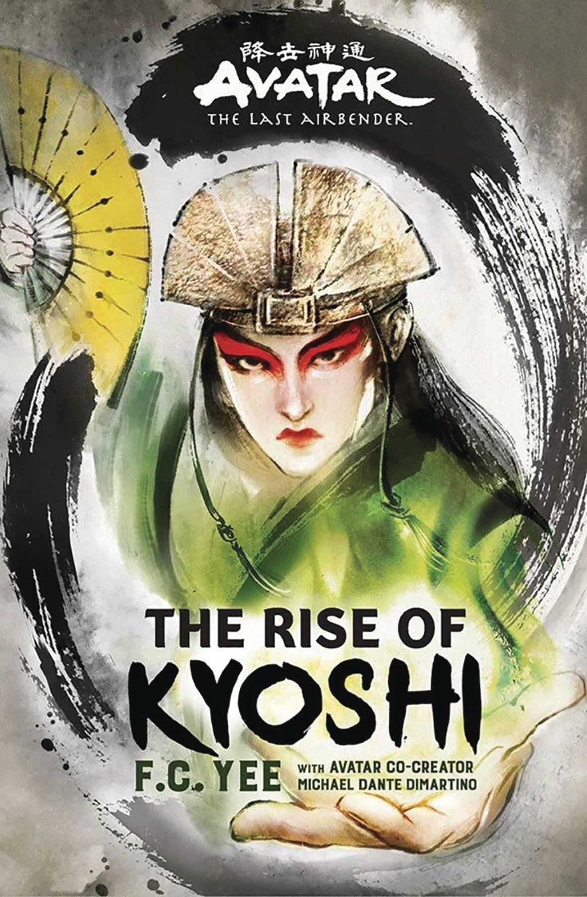 AVATAR LAST AIRBENDER RISE OF KYOSHI HC NOVEL (C: 1-1-0)