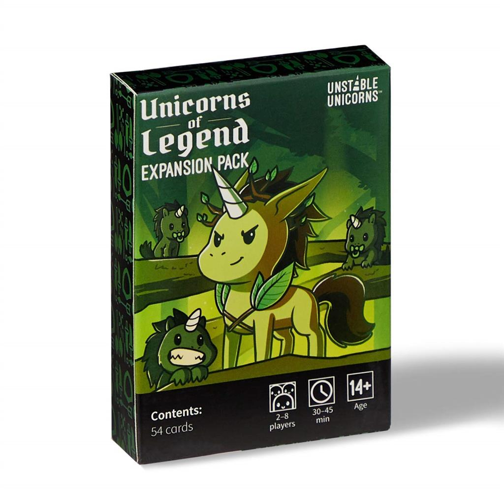 UNSTABLE UNICORNS UNICORNS OF LEGEND EXP. PACK