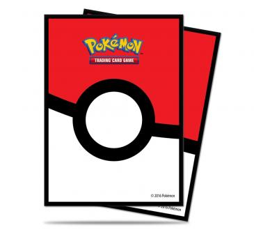 DECK PROTECTOR SLEEVES - POKEMON - POKÉBALL (65 SLEEVES)