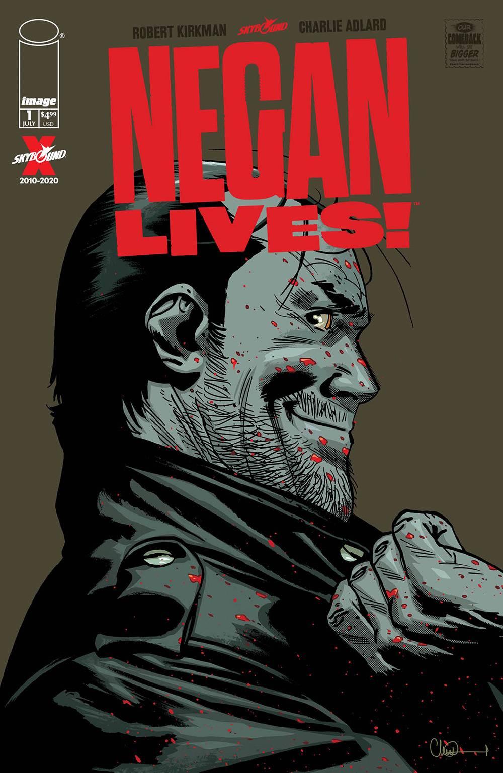 NEGAN LIVES #1 (MR) <span class=ttlyear>20 0</span>