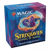 MTG - STRIXHAVEN: SCHOOL OF MAGES PRERELEASE PRISMARI + 1 FREE BOOSTER