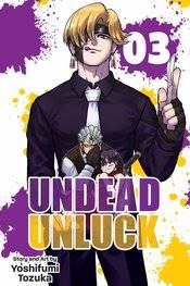 UNDEAD UNLUCK GN VOL 03