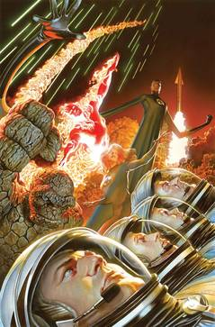 FANTASTIC FOUR #1 BY ROSS POSTER