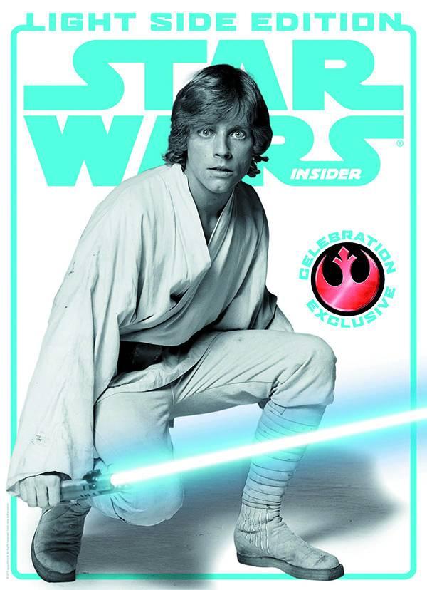 STAR WARS INSIDER #157 CELEBRATION LIGHT SIDE COVER ED (C: 0