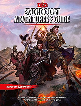 D&D NEXT SWORD COAST ADVENTURE GUIDE