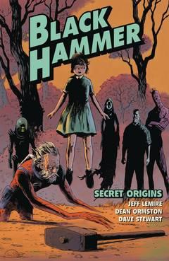 BLACK HAMMER TP VOL 01 SECRET ORIGINS (C: 0-1-2)