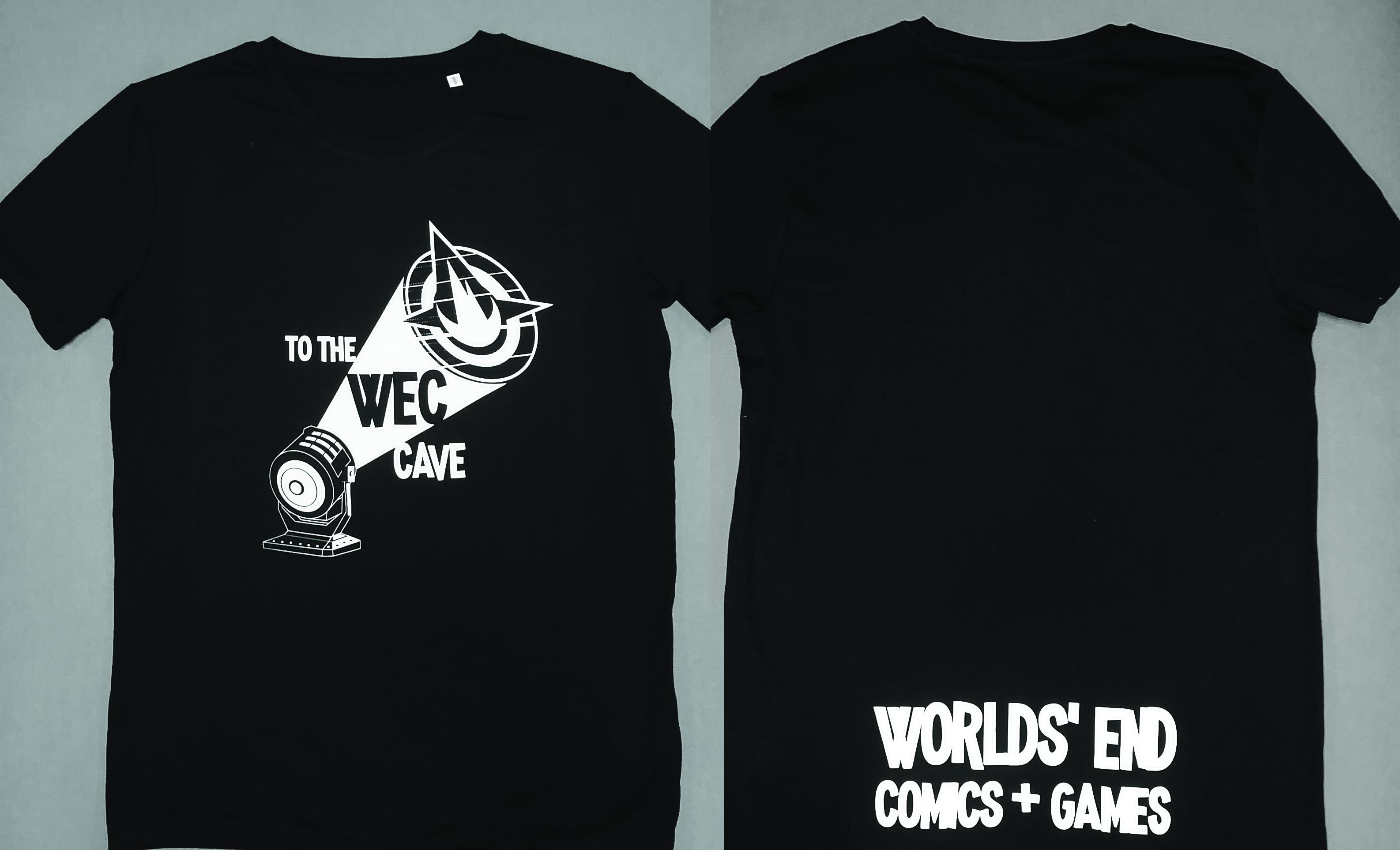 WEC T-SHIRT BLACK L
