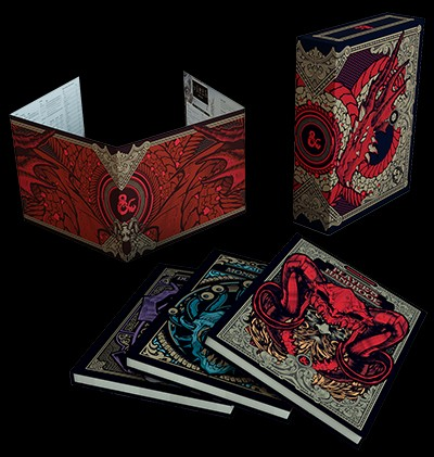 Dungeons and Dragons RPG Hobby Core Rulebook Gift Set Limited Alternate Covers