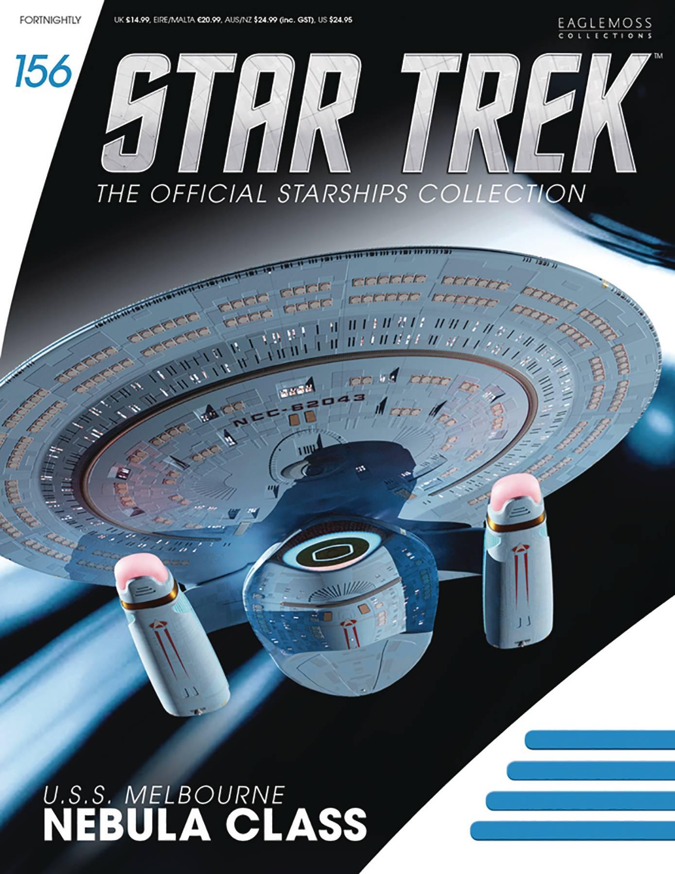 STAR TREK STARSHIPS FIGURE COLLECTION #133 IRINA Ship EAGLEMOSS