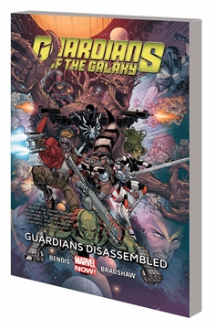 GUARDIANS OF GALAXY TP VOL 03 GUARDIANS DISASSEMBLED