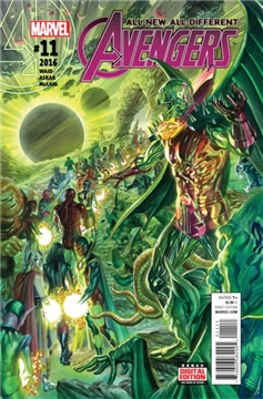 ALL NEW ALL DIFFERENT AVENGERS #11 ASO (2016)