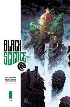 BLACK SCIENCE #36 CVR A SCALERA & DINISIO (MR) (2018)