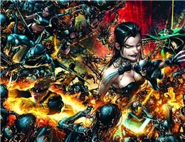 X-FORCE NEW MUTANTS NECROSHA POSTER