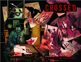 CROSSED BADLANDS #40 WRAP CVR  (2013)