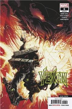 VENOM #6 (2ND PTG) (2018)