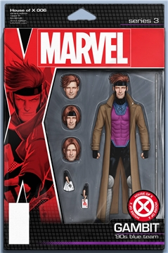 HOUSE OF X #6 (OF 6) CHRISTOPHER ACTION FIGURE VAR (2019)