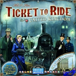 TICKET TO RIDE UK/PENNSYLVANIA (MAP COLLECTION) #5