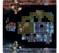 SALE! STAR WARS IMPERIAL ASSAULT TRAINING GROUND PLAYMAT