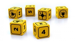 ALIEN RPG - STRESS DICE SET