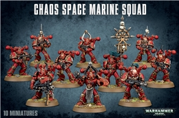 CHAOS SPACE MARINES (BS1 )