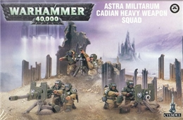 ASTRA MILITARUM CADIAN HEAVY WEAPON SQUAD ( BS1 )