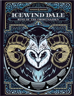 D&D NEXT ICEWIND DALE: RIME OF THE FROSTMAIDEN LIMITED EDITION HC