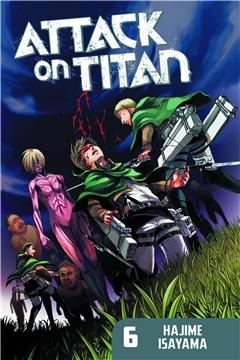 SALE! ATTACK ON TITAN GN VOL 06