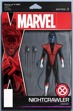 HOUSE OF X #5 (OF 6) CHRISTOPHER ACTION FIGURE VAR (2019)